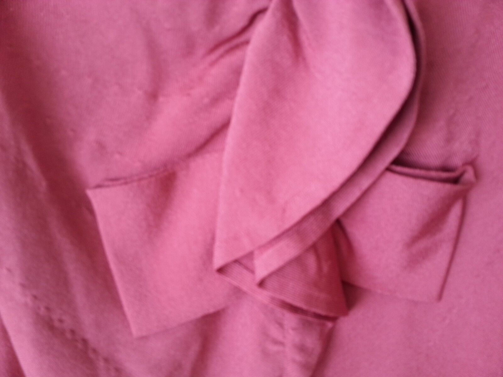 NEW   2720 VALENTINO COUTURE CARDIGAN SWEATER DARK PINK PINK PINK TOP MADE IN ITALY SZ S f44283