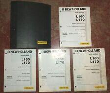 New Holland L160 L170 Skid Steer Loader Service Repair Manual Nh Original 106