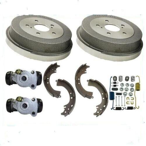 Rear Brake drum Shoes Spring Kit Wheel Cylinder fits 2006-2011 Hyundai Accent