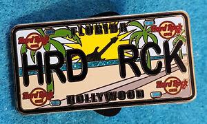 Hollywood-Florida-Matricula-Serie-Playa-Amanecer-Guitarra-Hard-Rock-Cafe-Pin
