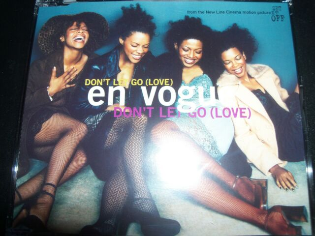 En Vogue Don't Let Go (Love) German 5 Track Card Sleeve CD Single