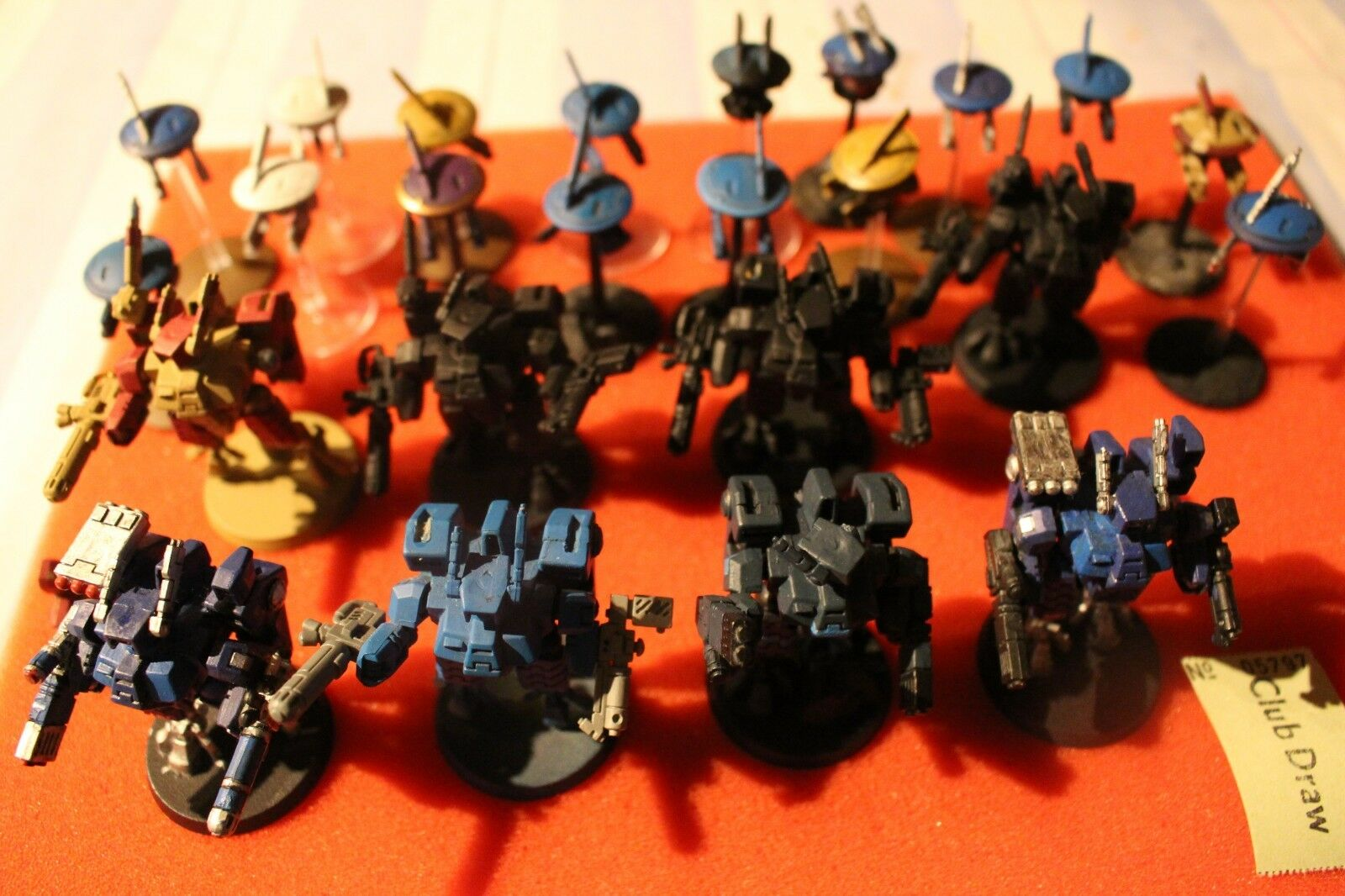 Games Workshop Warhammer 40k Tau Empire XV8 Crisis Battlesuits x8 Painted Army
