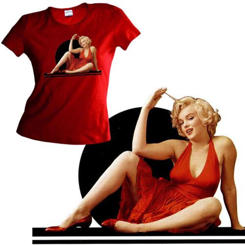 * Marilyn Monroe Pin-Up Damen Girl Shirt *2075 rot