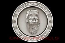 3d Model Stl For Cnc Router Artcam Aspire Merry Christmas Santa Claus D701