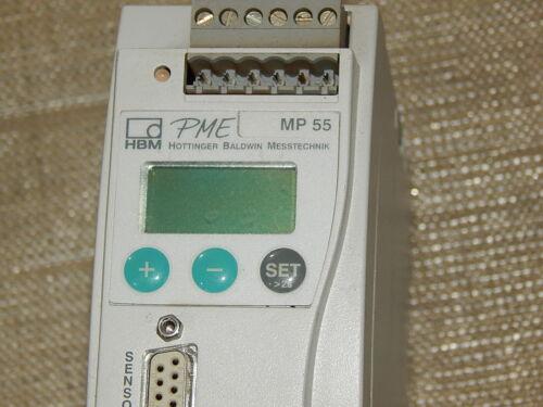HBM PME MP55  PME-MP 55 Modul Messelektronik Used