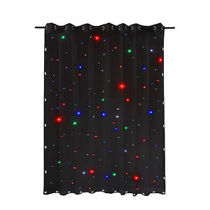 Image Is Loading DMX Theater Stage Star Curtains LED Cloth
