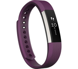 FITBIT Alta Fitness b& Plum for Health tracking with Touchscreen Small Size