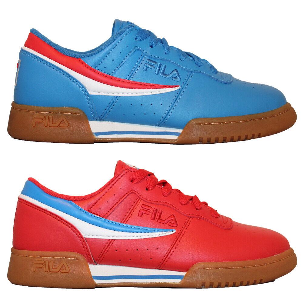 Mens Fila Original Fitness Premium Colorways Classic Retro Casual Athletic Shoes