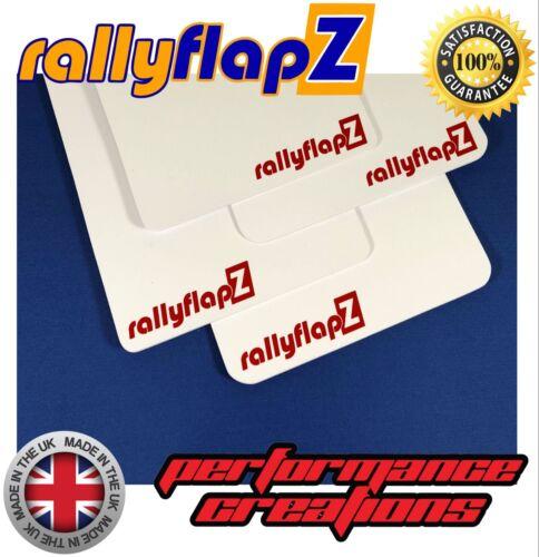 Auto-Ersatz- & -Reparaturteile 4mm PVC Mudflaps White rallyflapZ ...