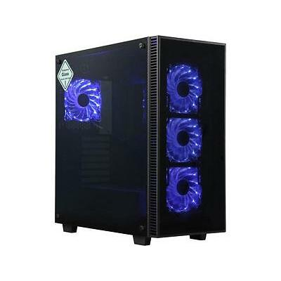 Rosewill CULLINAN ATX Mid Tower Gaming Case With Tempered Glass Panels
