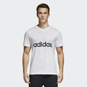 BRAND-NEW-35-adidas-Men-039-s-ESSENTIALS-TEE-S98730-White