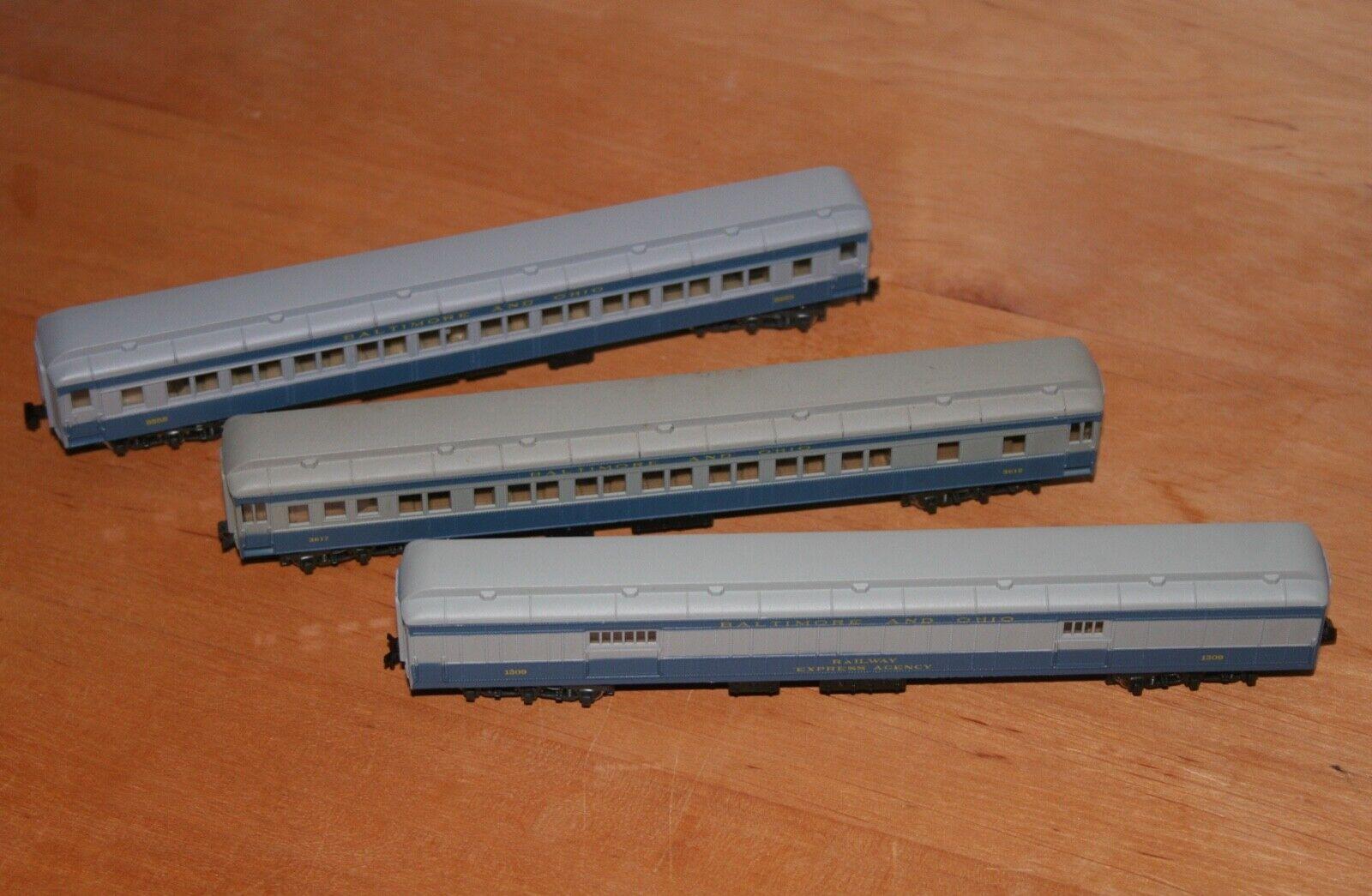 Baltimore & Ohio la raccolta 3 carri brevemente azionata-ATLAS RIVAROSSI-US b&o - N