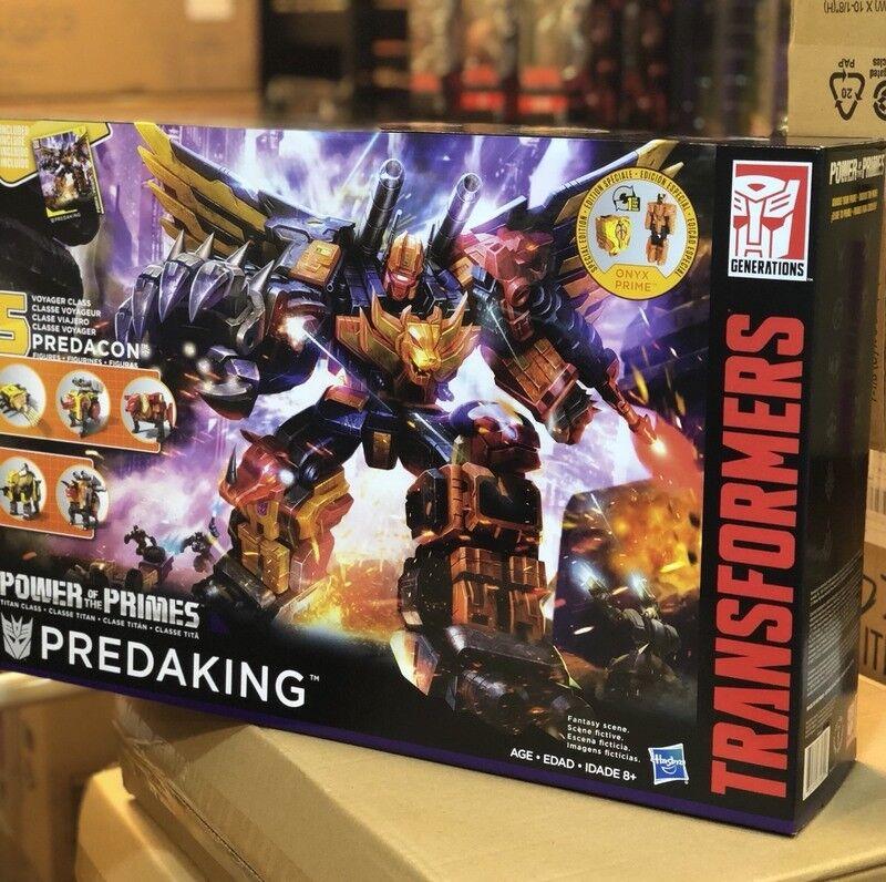 Hasbro Transformers Power of the Primes POTP Titan Class Predaking New
