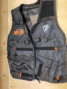 Genuine-NERF-Elite-Utility-Vest-Black-Orange-Genuine