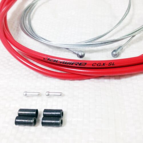 Jagwire CGX-SL brake cable housing /& inner wire kit Shimano Road//Universal cable
