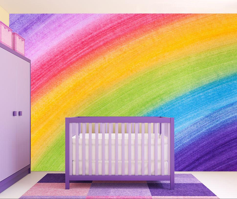3d Arc-en-ciel peinture 899 papier peint fresque murale papier peint photo famille de Jenny