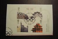 GB 2008  Commemorative Stamps~Olympics~ Fine Used Set~on piece~UK