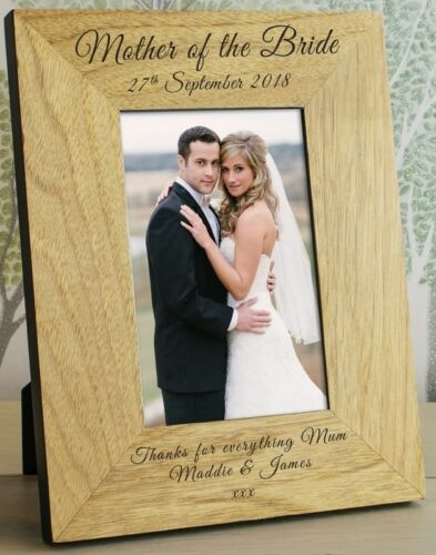 PERSONALISED WEDDING DAY Party Role PHOTO FRAME THANK YOU Gifts for Presents