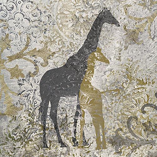 Katrina Craven  Giraffes Exotiques Keilrahmen-Bild Leinwand Giraffen Tiere
