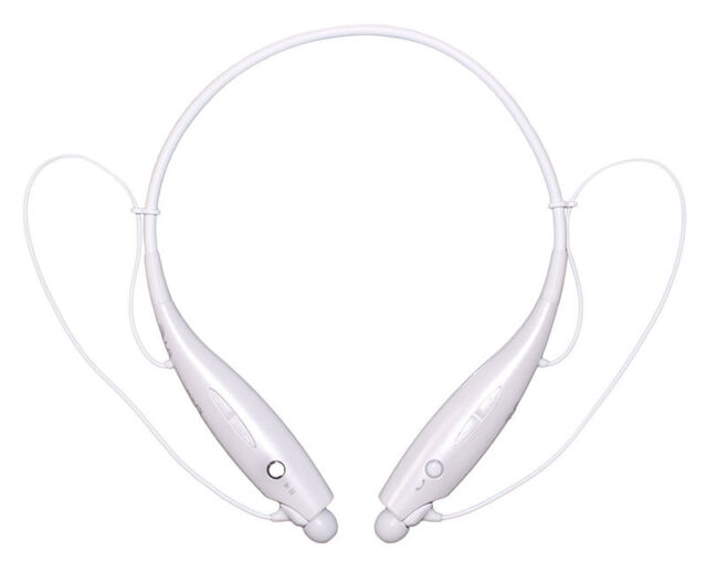 Genuine LG Tone + HBS-730 White Wireless Bluetooth Stereo Headset HBS730