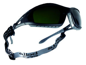 88dc9446cf3c Bolle Tracker II Safety Glasses Goggles - Shade 5 Welding TRACWPCC5 ...