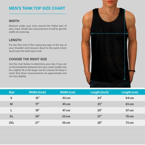 Wellcoda Psychedelic Dog Fashion Mens Tank Top Color Active Sports Shirt