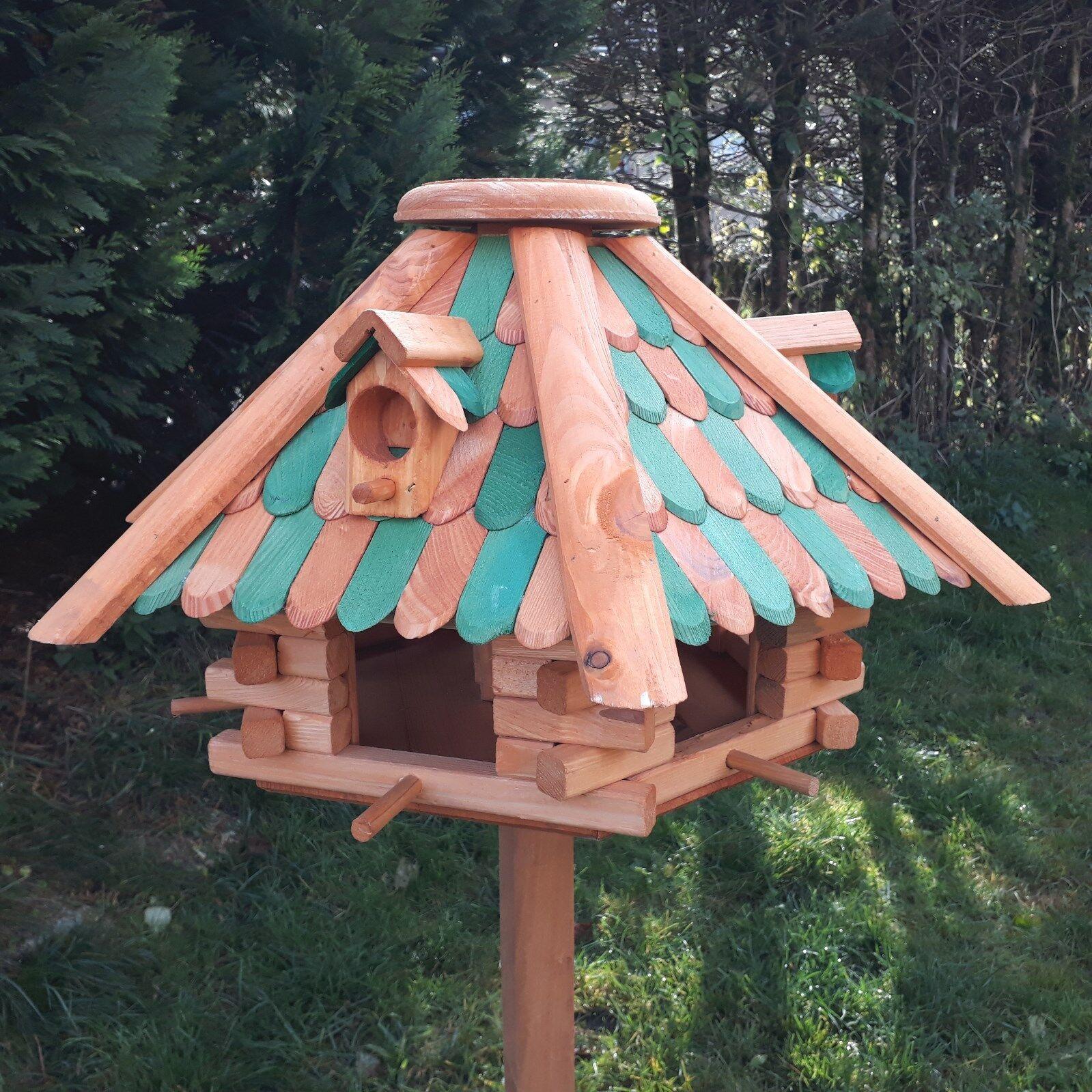 Turbo XXL Top-Qualität Vogelhaus Luxus Großes Holz Vogelhäuschen gehen IF33