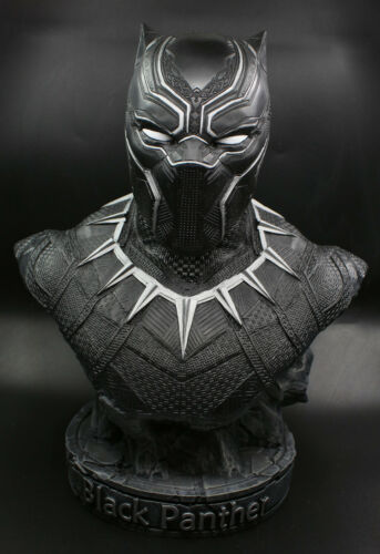 statue-NEW  1//2 Black Panther  high quality  resin Finished bust