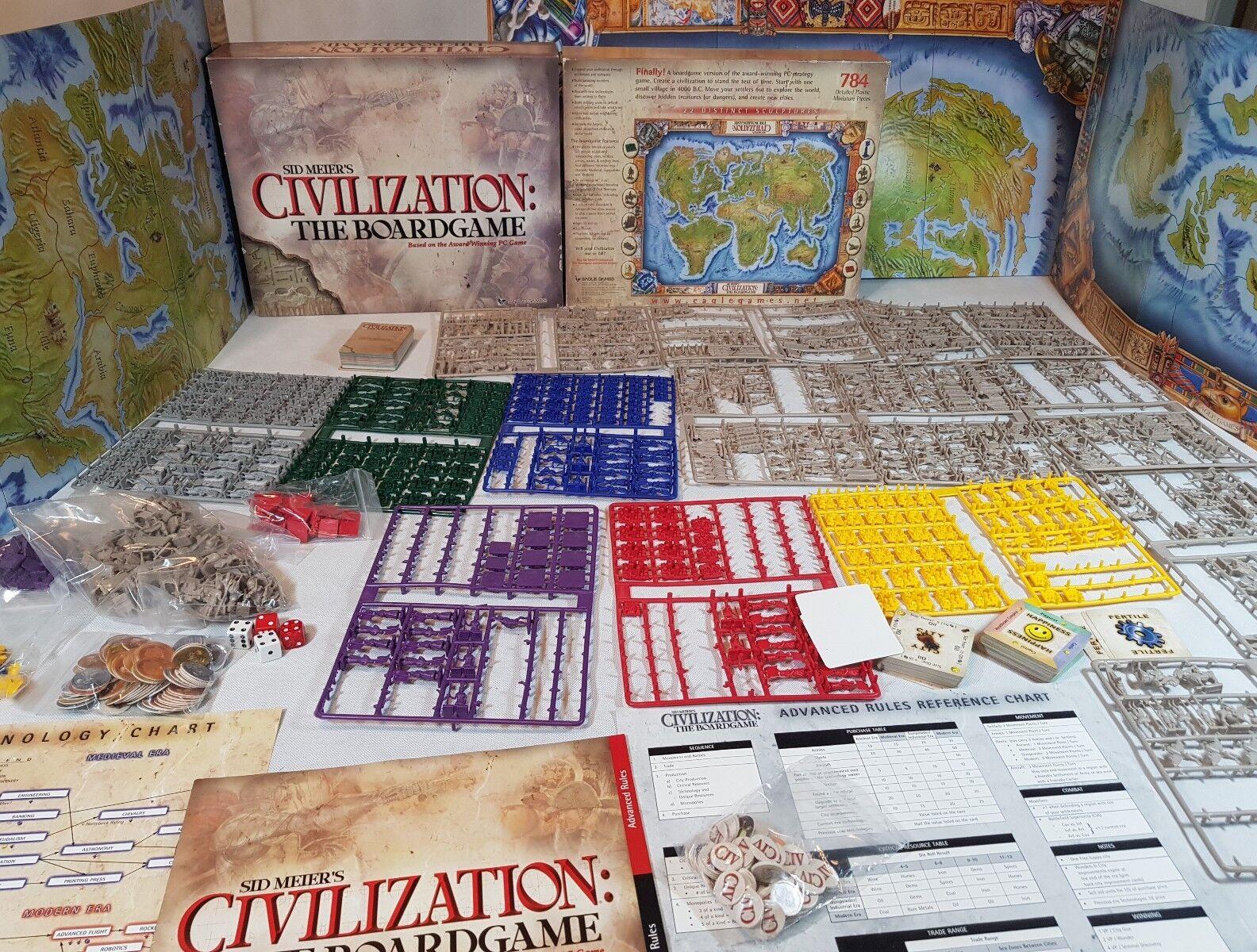 La civiltà del gioco da tavola da Eagle Games - 100% COMPLETO, su materozze [ENG, 2003]