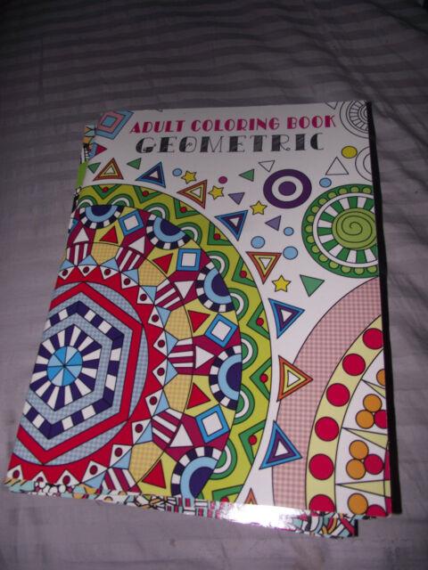 4 PC DESIGNER Series Adult Coloring Books Patterns Floral Geometrical Ship