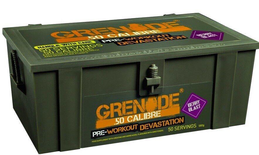 Grenade 50 Kaliber 580g Vor Killa Dem Training und Muskelaufbau 50 Portionen. Killa Vor 20ac7e