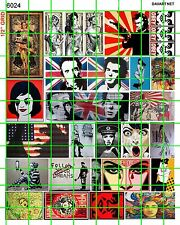 6024 DAVE'S DECALS HO SCALE SMALL STREET GRAFFITI ART POSTER GIRLS SEX PISTOLS