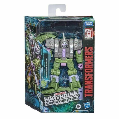 New hasbro transformer earthrise wfc-e19 deluxe quintesson allicon action figure