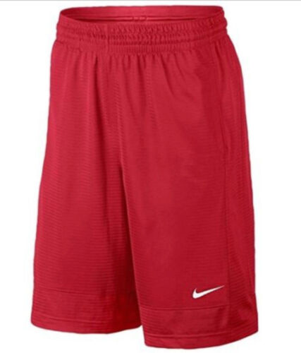 New Youth Boy/'s Nike Red basketball athletic mesh shorts size large  med kids