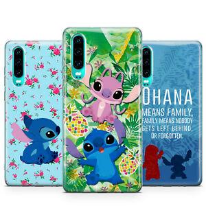 Détails sur Disney Lilo et Stitch Cute Ohana iPhone CASE COVER FITS pour Huawei P30 Pro Lite- afficher le titre d'origine