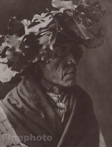c.1900/72 Photo Gravure NATIVE AMERICAN INDIAN Cheyenne Art EDWARD CURTIS 11x14