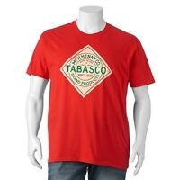 Official Issue Tabasco T Shirt Hot Sauce Advertising Tee 2xl 3xl Mwt