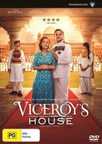 1 of 1 - Viceroy's House (DVD, 2017) Hugh Bonneville Brand New & Sealed Region 4