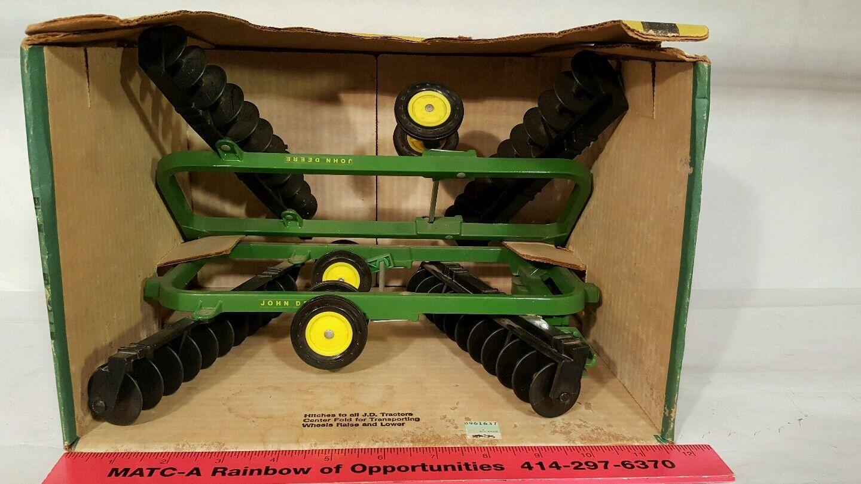 ERTL John  Deere 220 Noir GANG Disque 1 16 diecast farm appliquer Replica  jusqu'à 65% de réduction