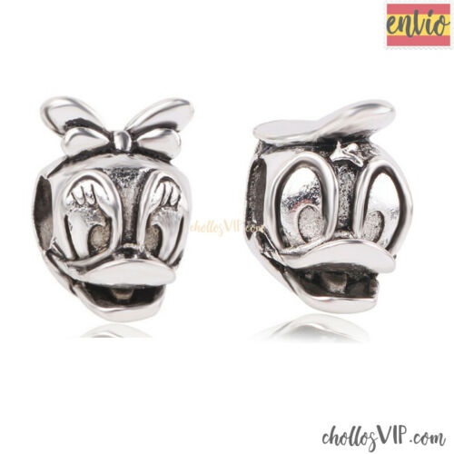 Conjunto 2 charms Mickey Minnie Ratón disney Mouse pulsera europea abalorio