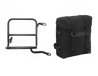 Royal Enfield Classic 350cc /& 500cc RH Military Pannier with Fitting Frame Olive