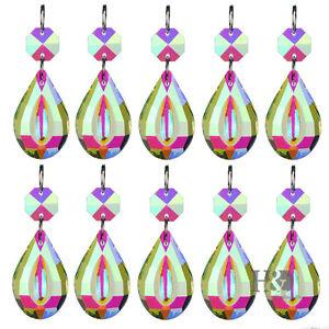 10-pcs-Crystal-Prisms-Chandelier-Lighting-Part-Hanging-Lamp-Pendant-Suncatcher