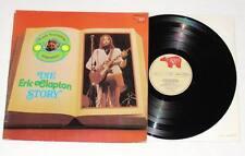 ERIC CLAPTON Frank Laufenberg präsentiert The Clapton Story LP Vinyl 1973 RARE