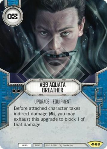 x2 A99 Aquata Breather 66 Uncommon Star Wars Destiny Way of the Force M/NM