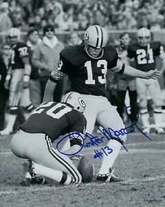 PACKERS-Chester-Marcol-signed-8x10-photo-AUTOGRAPHED-AUTO-Green-Bay-Kicker