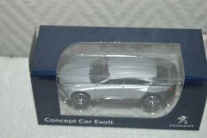 VOITURE-PEUGEOT-concept-car-exalt-NOREV-1-72-DIE-CAST-NEUF-CAR-SALON-AUTO