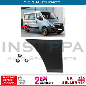 NEW MOULDING SIDE TRIM VAUXHALL MOVANO B RENAULT MASTER MK3 REAR RIGHT PANEL