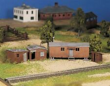 BACHMANN PLASTICVILLE HOBO JUNGLE O GAUGE BUILDING KIT