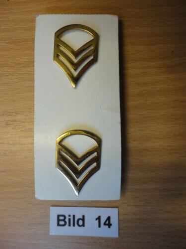 Abzeichen in der Farbe schwarz und gold US-Army Metall