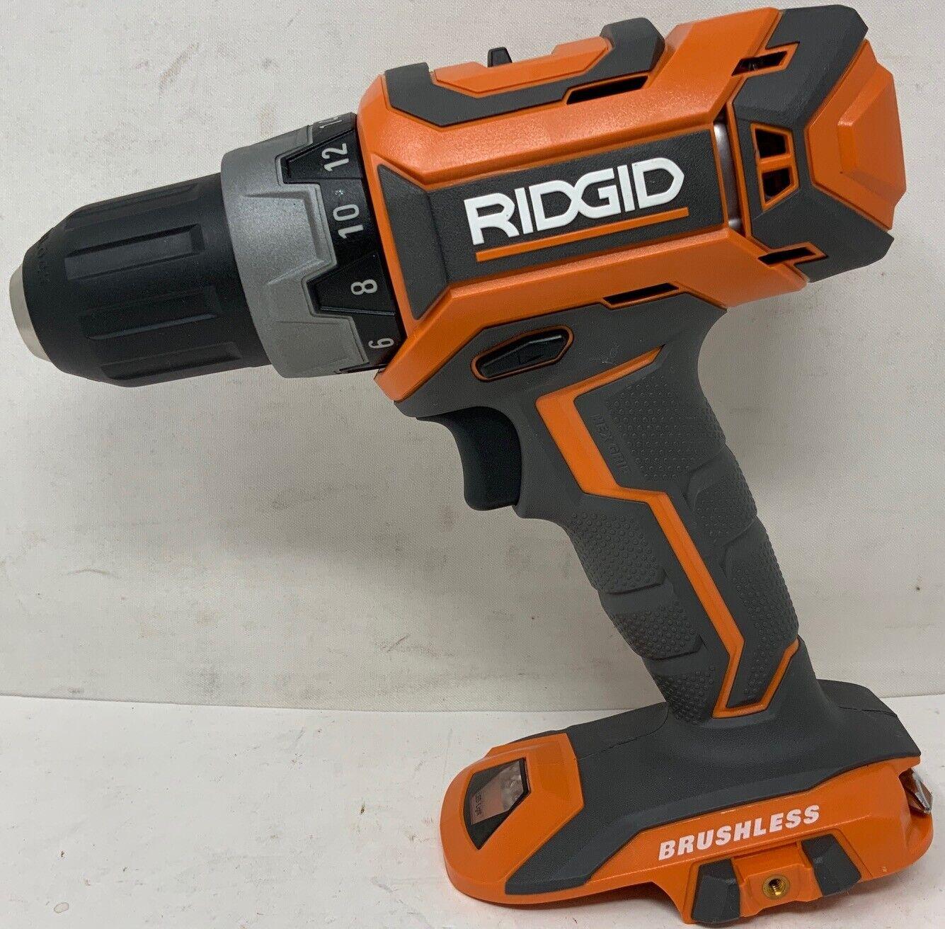 "RIDGID 18v GEN5X BRUSHLESS 1//2/"" DRILL DRIVER LITHIUM COMPACT R860054"